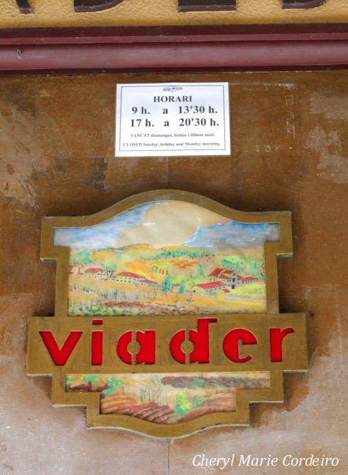 Graja Viader, opening hours, Barcelona, Spain.
