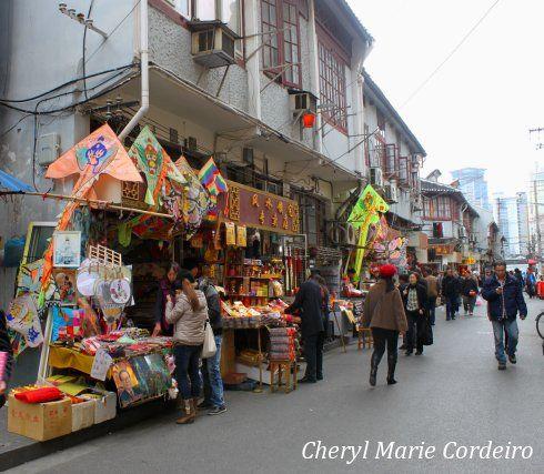 Shops at Yuyuan, Shanghai.