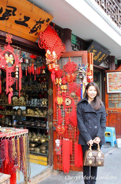 Cheryl Marie Cordeiro, Yuyuan, Shanghai 2011.