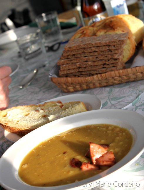 Sausage to peasoup, Swedish west coast Sunday Brunch in winter.