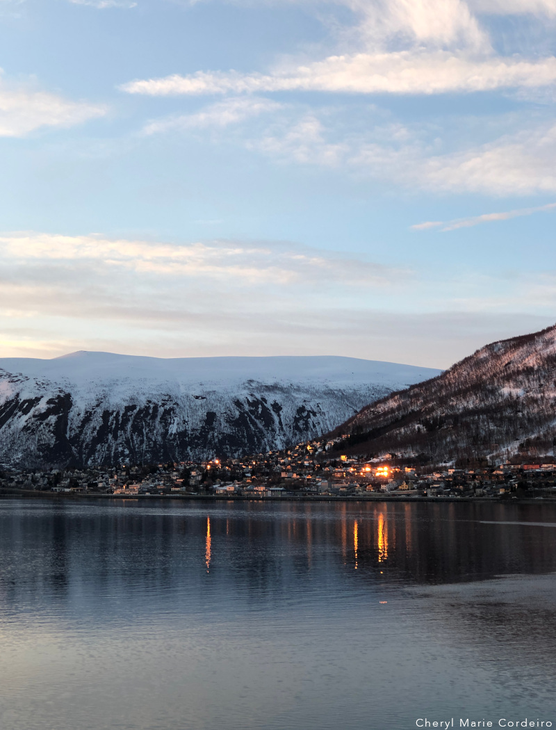Midnight sun, Tromsø, Northern Norway